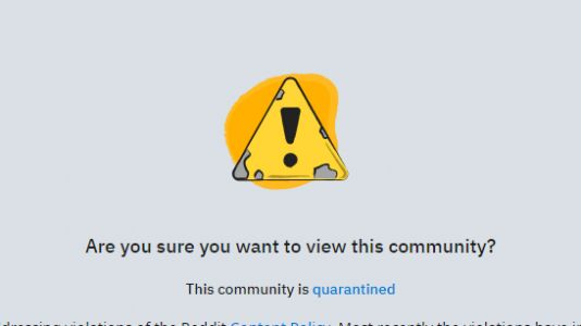 Reddit Has 'Quarantined' Popular Pro-Trump Thread Over Violent Threats