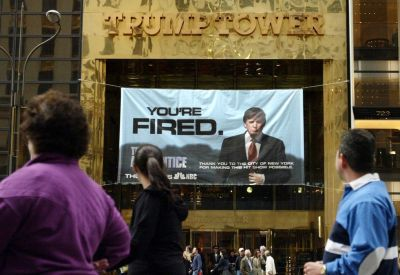 Trump's ties to 'Apprentice' raise conflict issues