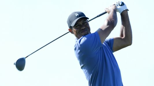 Tiger Woods trails by three after opening-round 69 at Torrey Pines
