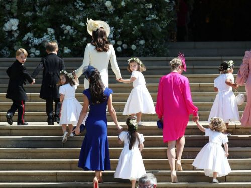9 times Princess Charlotte and Prince George stole the show at the royal wedding