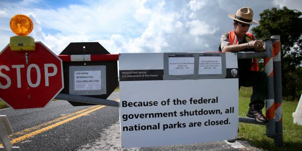 National parks will be open during the government shutdown - but there's a catch