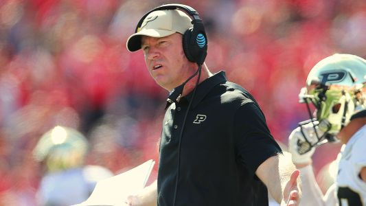 Purdue coach Jeff Brohm agrees to extension through 2024