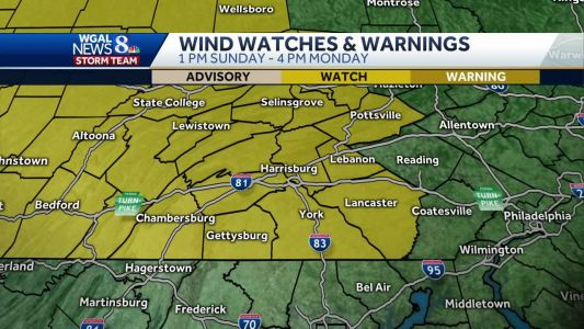 Rain could be widespread and heavy at times this weekend - then a high wind watch goes into effect