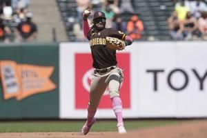 Padres' Tatis, Myers test positive for virus; 3 others out