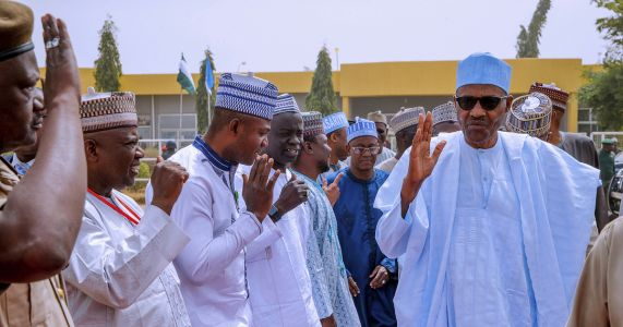 A look at Nigeria's top 2 presidential contenders