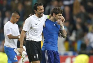 'We are the best': Buffon and Casillas to resume rivalry