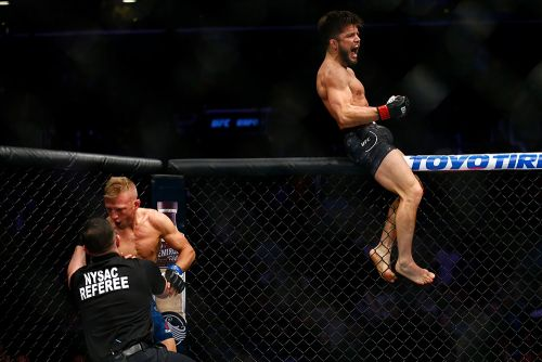 Furious T.J. Dillashaw says Henry Cejudo 'did not win' at UFC Brooklyn, wants rematch at 125