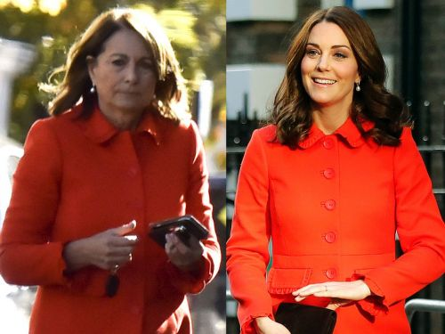 Kate Middleton's mom recreated one of her daughter's outfits, and it's proof that style runs in the family