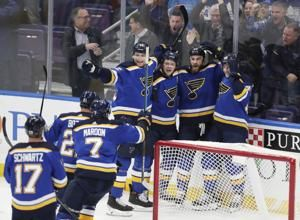 O'Reilly's overtime goal lifts Blues past Maple Leafs 3-2
