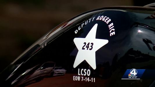 Bikers from across the Upstate to honor a fallen deputy