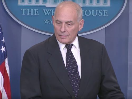 John Kelly rips Democratic congresswoman who told the press about Trump's call with a Gold Star widow