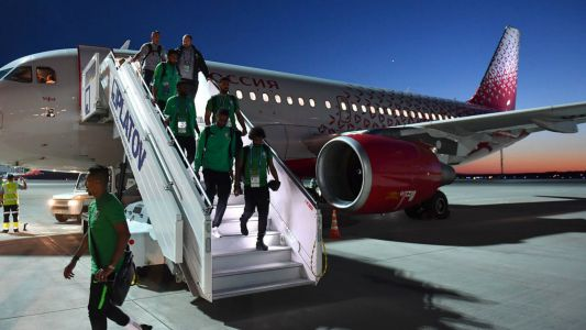 World Cup 2018: Saudi Arabia team safe after plane's 'technical failure'
