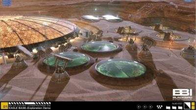 Blackbird Interactive builds NASA's vision of what a Mars base would look like