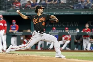 Orioles get away from home, win 5-2 at Texas