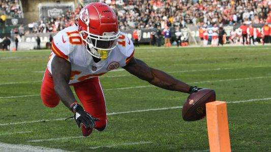 Tyreek Hill injury update: Chiefs WR says 'my foot's bad' after win over Ravens