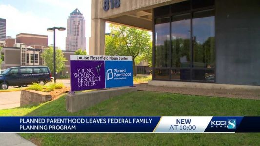 Planned Parenthood leaves federal program, loses funding for low-cost services