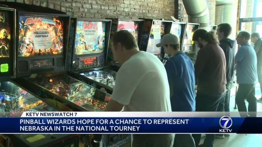 Pinball 'wizards' compete for chance to represent Nebraska in national tournament