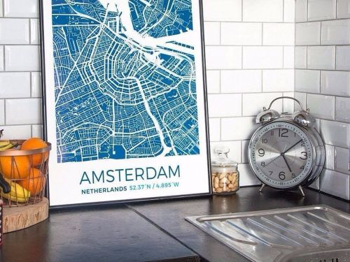 This cool website lets you design custom map posters and T-shirts of anywhere in the world - and the results are undeniably cool