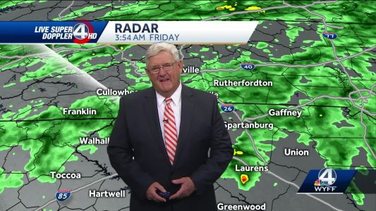 Videocast: Fog and rain today