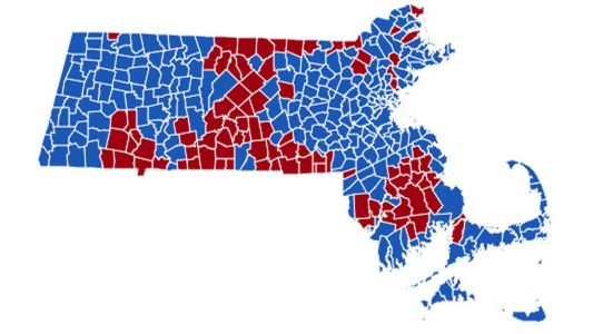 How Massachusetts has voted for president in the past