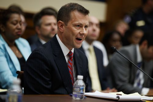 FBI agent Peter Strzok fired, lawyer says