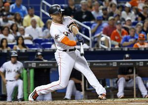 It's official: NL MVP Stanton now slugging for the Yankees