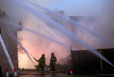 Fire officials investigating cause of Boston-area fire