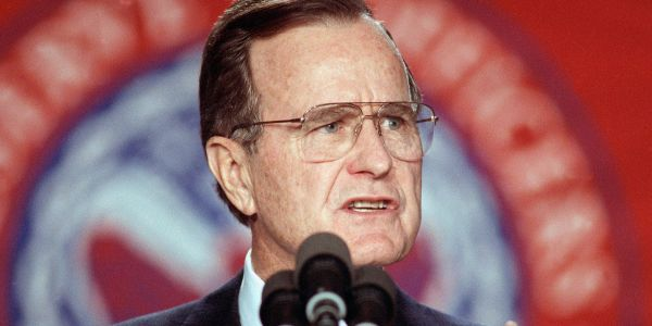 7 things you might not know about the George HW Bush administration