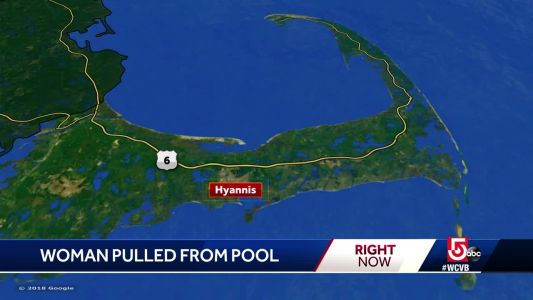 Woman pulled from pool at Cape Cod hotel