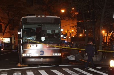 MTA bus driver arrested after fatally striking woman