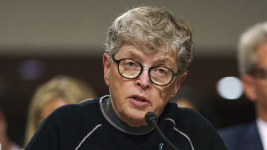 She Knew about Larry Nassar in 2014, Michigan Says in Charging Former MSU President Lou Anna Simon