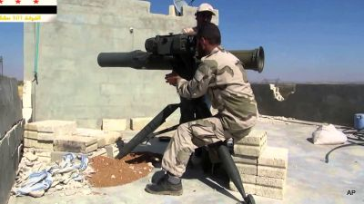 CIA Freezes Arms, Cash Transfers To Syrian Rebels