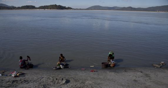 India says Chinese construction on river dirtying water