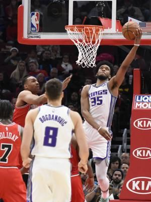 Fox sparks 2nd-half rally, Kings beat Bulls 108-89