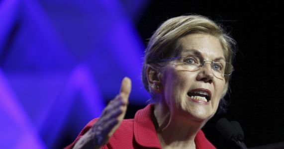 Warren accuses Trump of 'creepy' comments about her DNA test