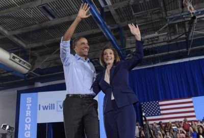 The Latest: Obama works for Democrats in tight Nevada races