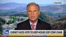 House GOP Leader Kevin McCarthy Says He Backs Ousting Liz Cheney From Role