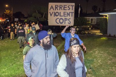 Protests erupt after off-duty LA officer clashes with teens