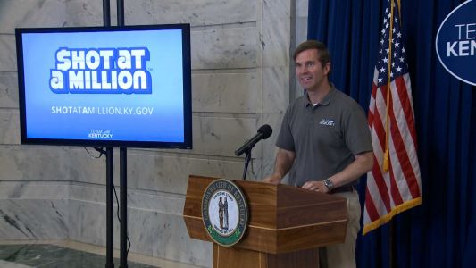 Shot at a Million: More Kentucky vaccine lottery winners to be announced Friday