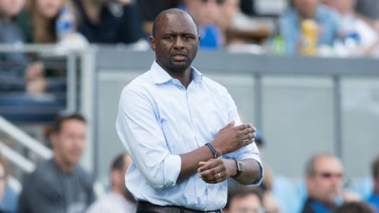 Vieira insists there has been no contact with Arsenal as managerial rumors swirl