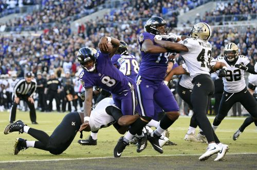 Tucker misses first extra-point attempt in Ravens loss to Saints