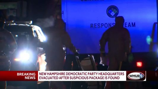 NH Democratic Party headquarters evacuated after suspicious package found