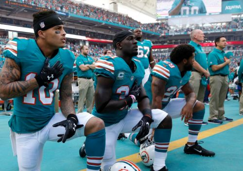 NFL, NFLPA freeze anthem rules amid backlash to Miami's policy