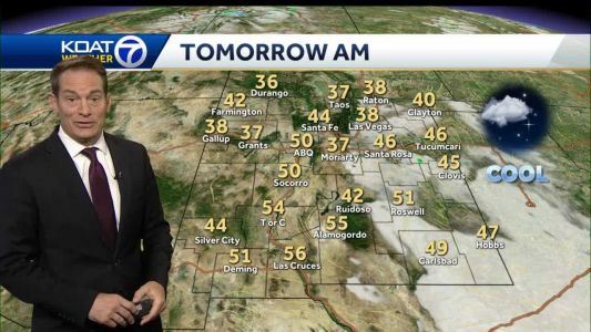 Brief cool down today before a weekend warm up arrives