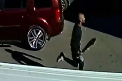 Video shows sword attack in parking lot