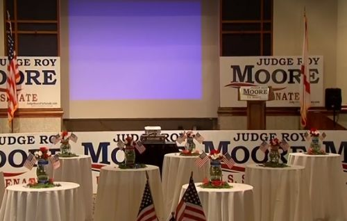 WATCH LIVE: Roy Moore Campaign Watch Party for special U.S. Senate election