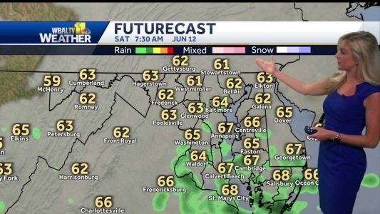 Cloudy To Start Saturday
