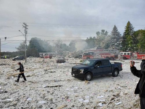 Firefighter killed, several injured in Maine explosion, officials say