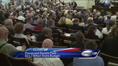 CloseUp: Budget passes in NH statehouse