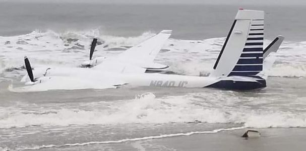 Plane crashed into ocean in Myrtle Beach, officials say
